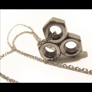 Hardware Bolts Necklace